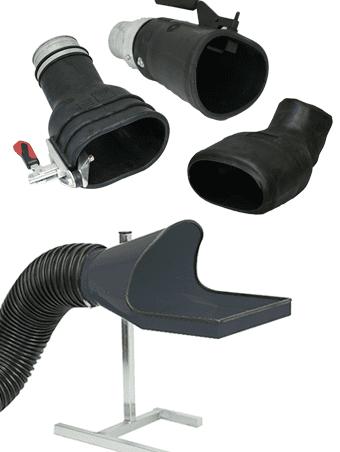 Conectar manguera al tubo de escape