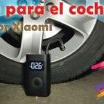 Compresor inflar ruedas coche
