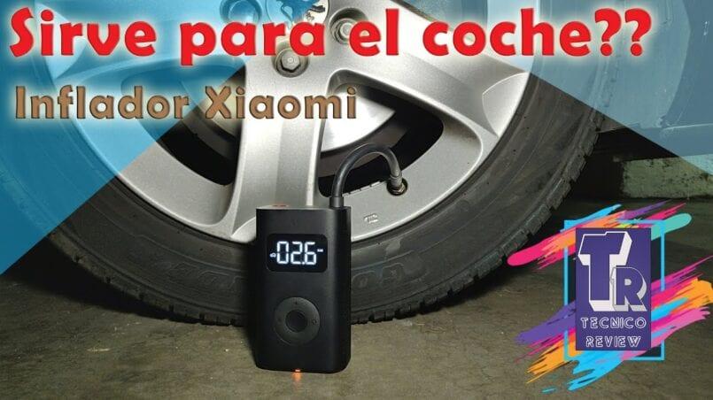 Inflador electrico ruedas coche