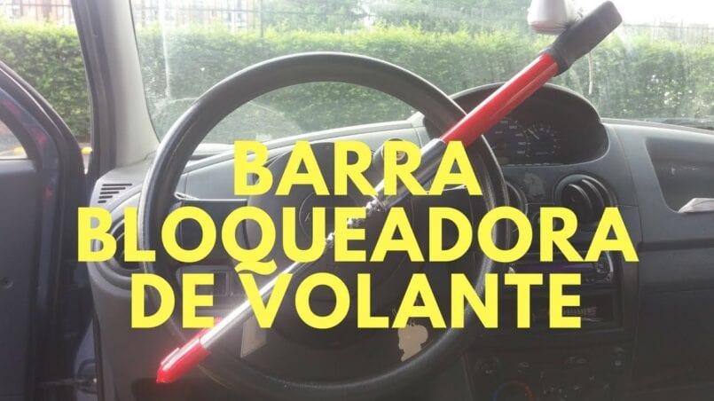 Candado para volante coche