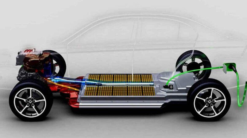 Capacidad baterias coche electrico