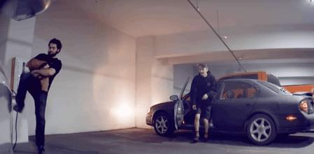 Cargador coche electrico tesla