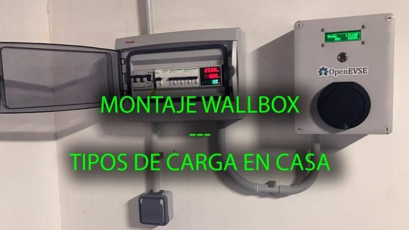 Cargador coche electrico wallbox