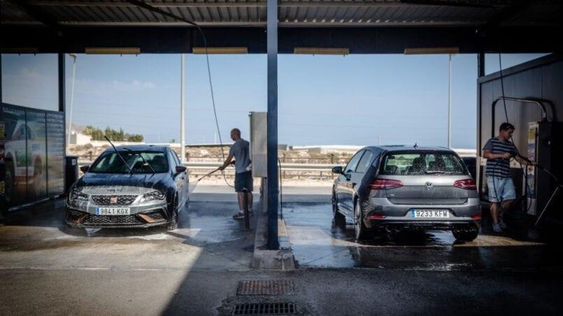 Como lavar el coche a presion