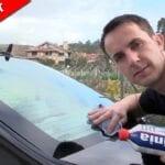 Limpiar faros coche quemados