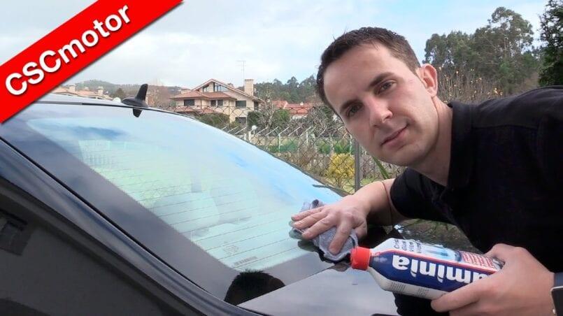 Como limpiar cristales coche