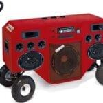 Radio coche manos libres microfono integrado