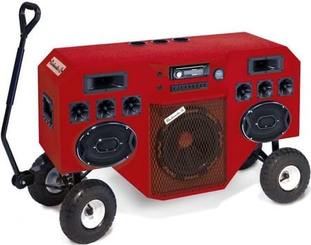 Conectar radio cd coche en casa