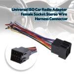 Tipos conectores radio coche