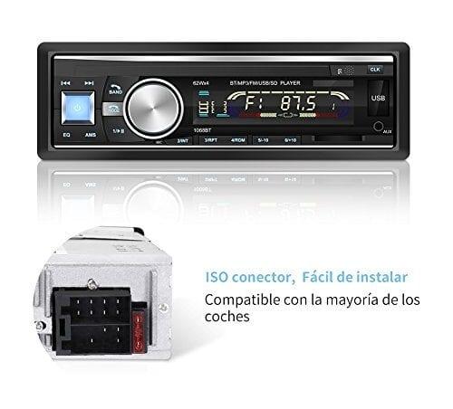 Conector usb radio coche