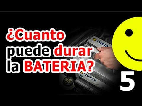 Cuanto dura una bateria de coche diesel