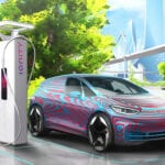 Motor electrico rueda coche