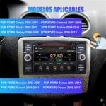 Radio cd mp3 coche