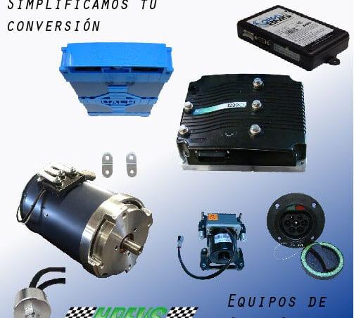 Kit para coche electrico