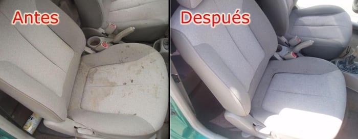 Limpiador de asientos de coche
