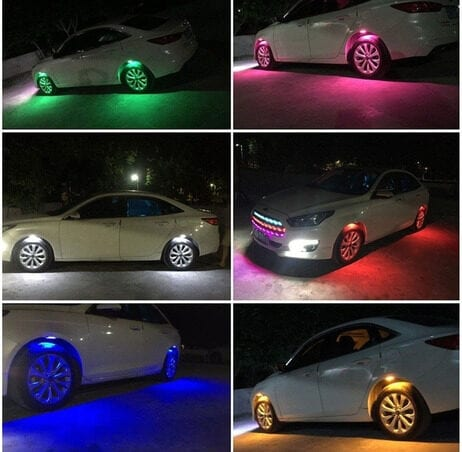 Luces led coche tuning