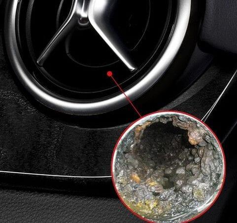 Mal olor climatizador coche