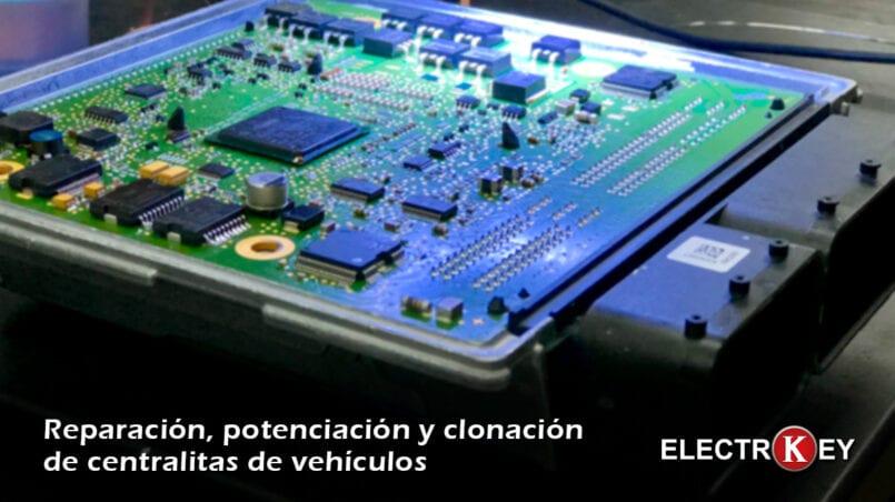 Maquina reprogramar centralita coche