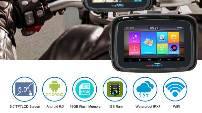 Navegador gps android para coche