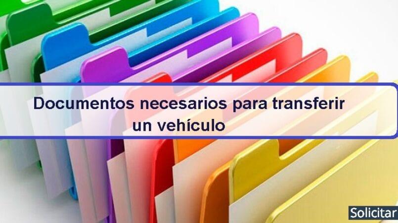 Papeles necesarios para transferencia de coche