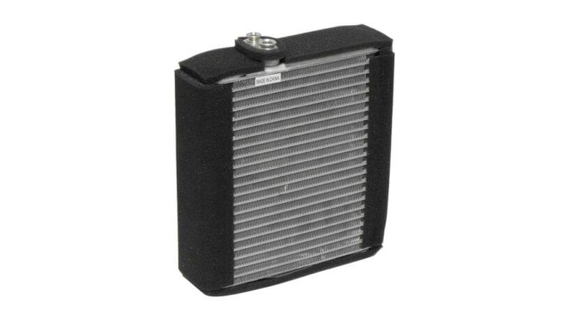 Partes de un radiador de coche