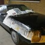 Pintar coche seguro todo riesgo franquicia mutua madrileña