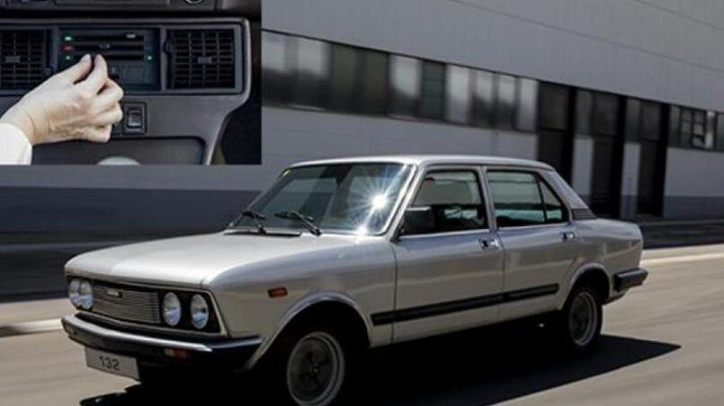Primer coche con aire acondicionado