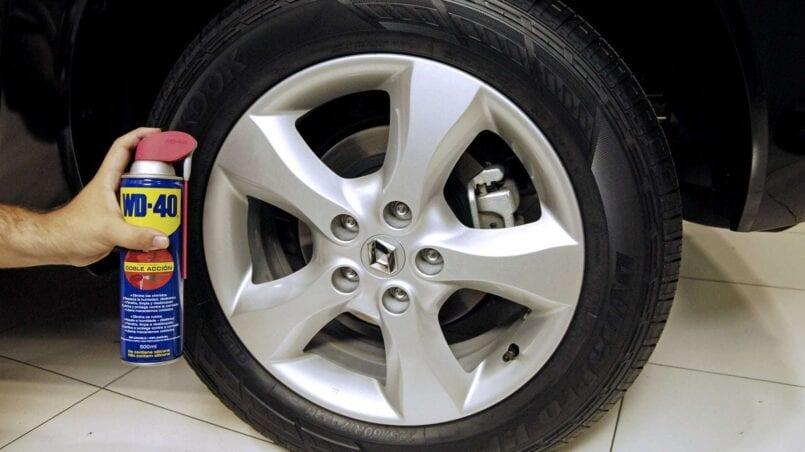 Pulir llantas aluminio coche