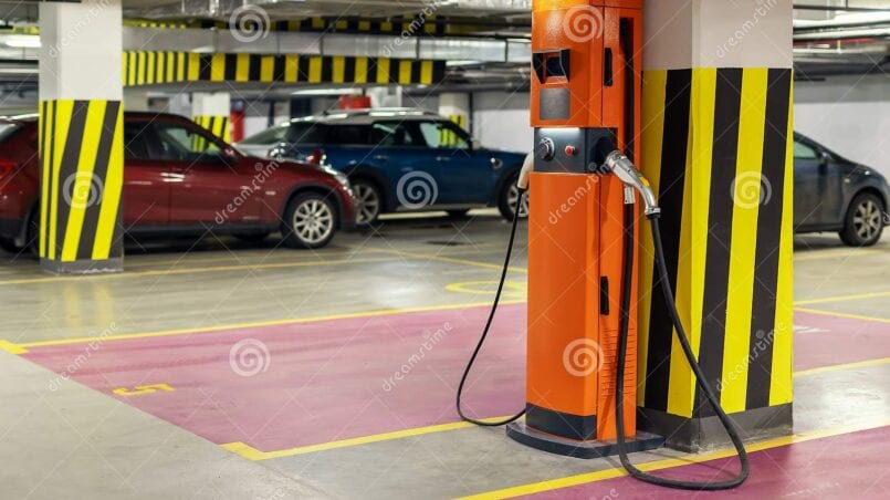 Puntos carga rapida coche electrico