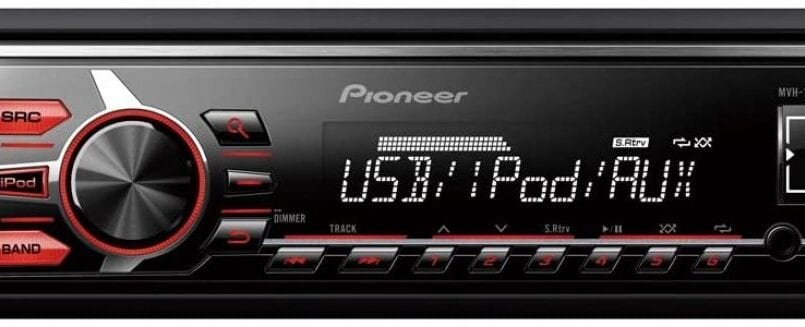 Radio caset de coche con usb