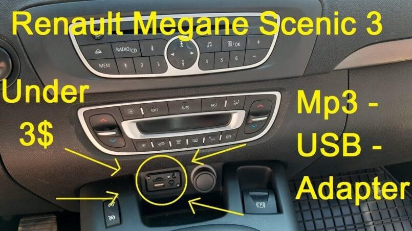 Radio coche renault megane