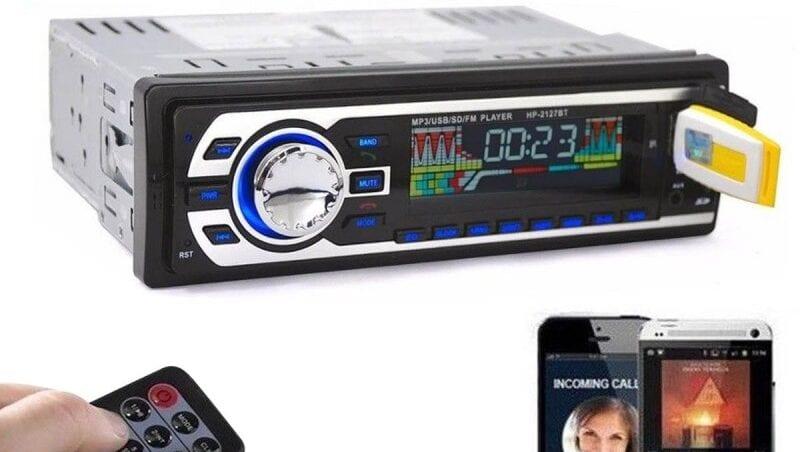 Radio mp3 bluetooth coche