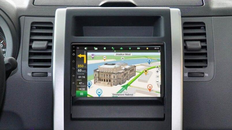 Radio tablet para coche