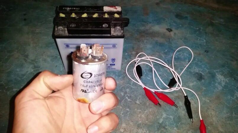 Recuperador de baterias de coche