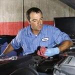 Limpieza radiador calefaccion coche