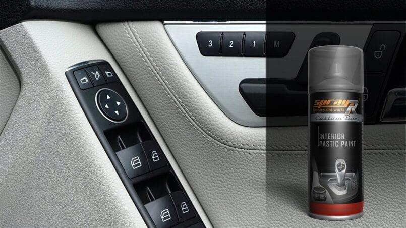 Reparar plasticos interior coche