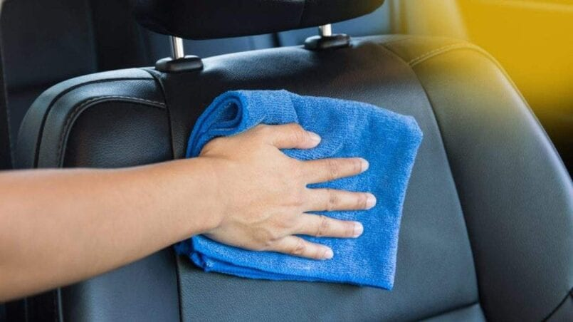 Trucos para limpiar tapiceria coche