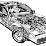 Turbo de un coche