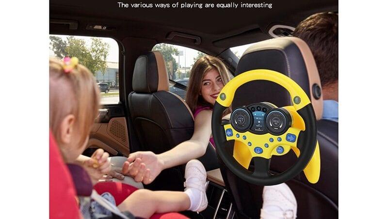 Volante niños para coche