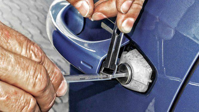 Arreglar llave de auto