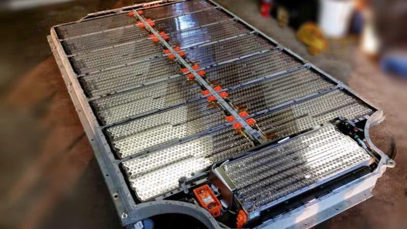 Bateria ion litio carro electrico