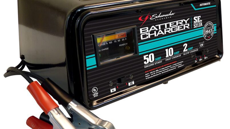Cargador de baterias de coche black decker