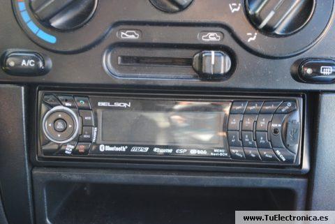 Cd atascado radio coche