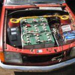 Convertir coche diesel a electrico