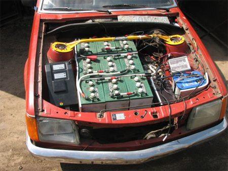 Convertir coche en electrico