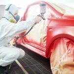 Pintar molduras interiores carro