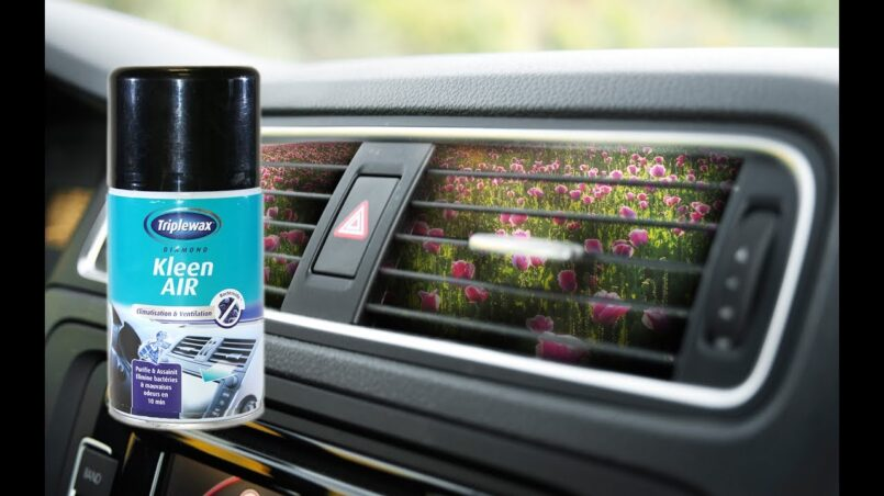 Higienizante aire acondicionado coche