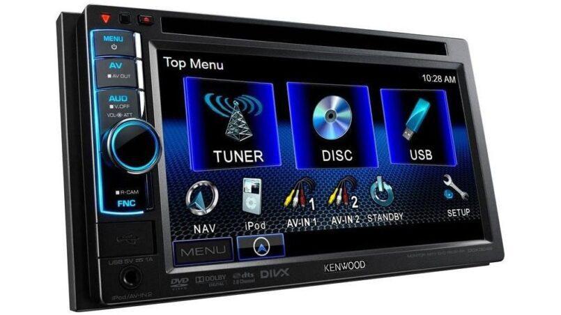 Radio caset con pantalla para coche