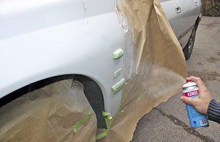 Reparar arañazos coche sin pintar