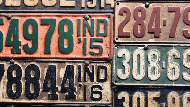 Año matricula auto por letras